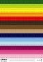 Alphabet imprimeur coloré lettres