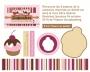 Cupcakes-étiquettes mini-planche