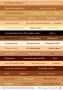 Lignes d'étiquettes combinables sepia