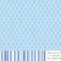 Papier A4 entrelacs bleu